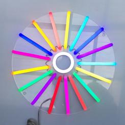Colour Wheel On (daylight)