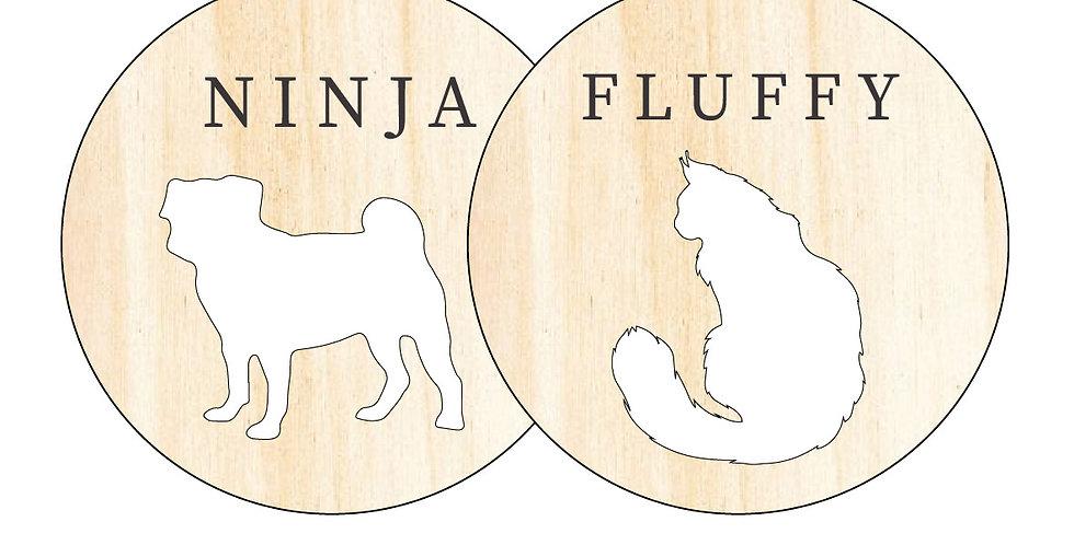 Pet Bauble (Dog & Cat) - 2 Pack