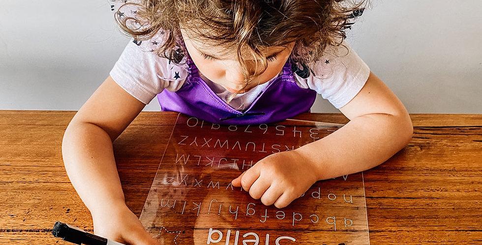 Alphabet Learning Board