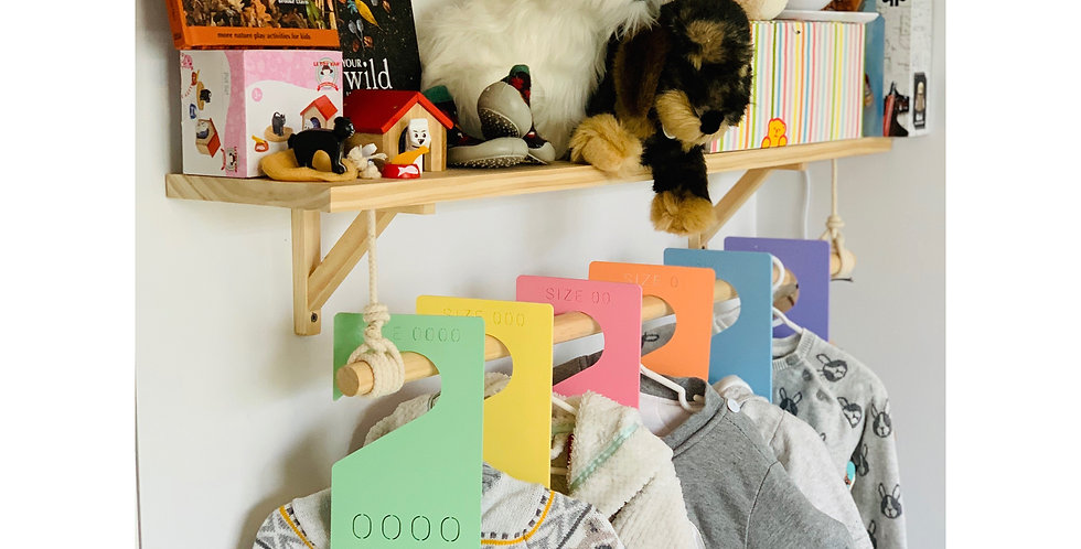 Baby Clothes Dividers (Pastel)