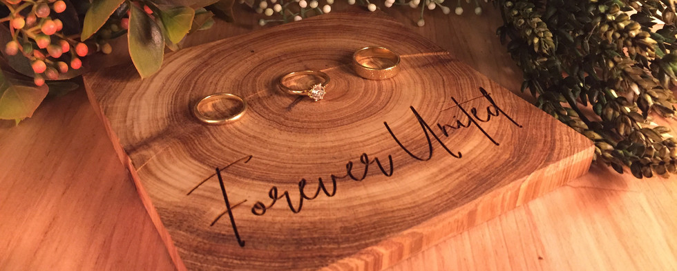 Engraved Timber Ring Board