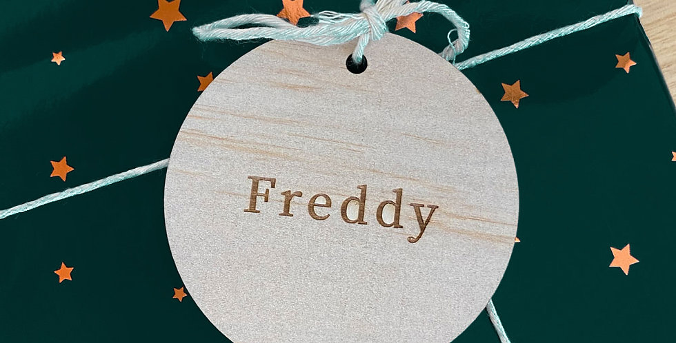 Named Reusable Gift Tags (8 pack)