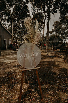 Boho wedding sign - The Laser Cutting Studio Geelong, Australia
