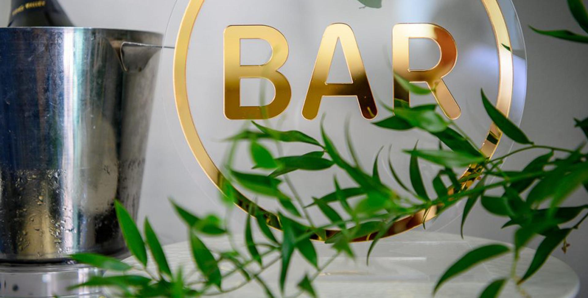Round Bar Sign