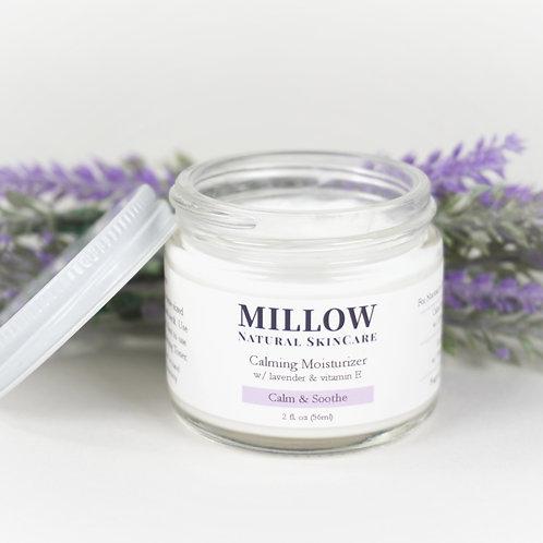 Calming Facial Moisturizer with Lavender & Vit E