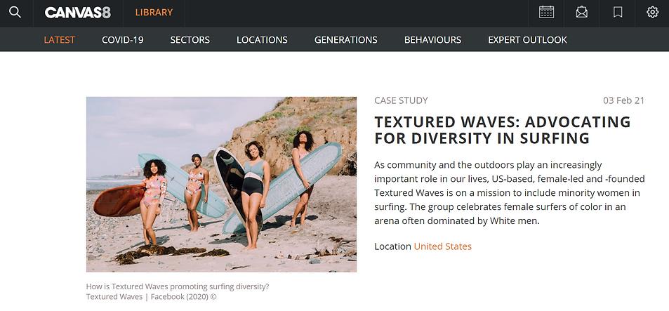 Textured Waves Diversity