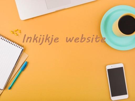 Inkijkje website