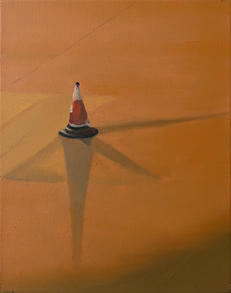 Cone with three shadows, 2021