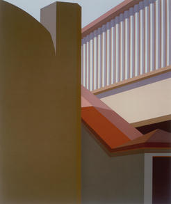 Ramp with a red roof, 1981