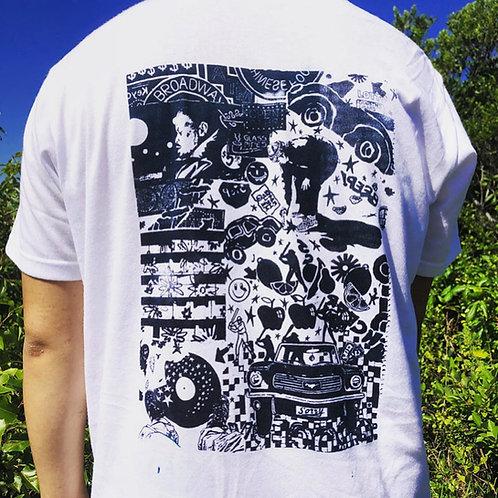 SHUTO OKAYASU, Strange Night drawing t-shirt