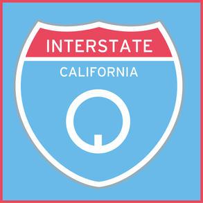 Gradation Number - Interstate 5, pigment