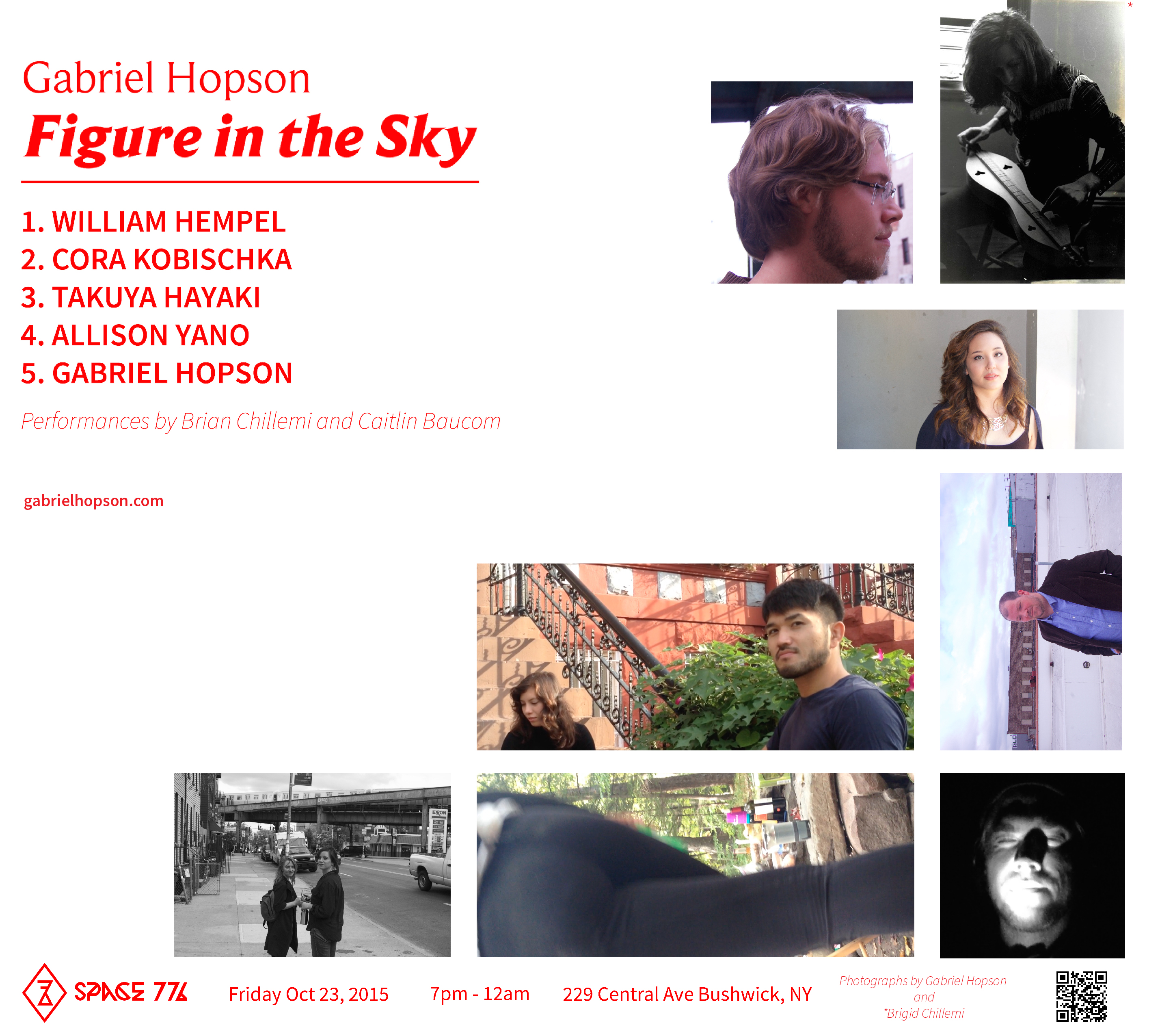 Figure in the sky