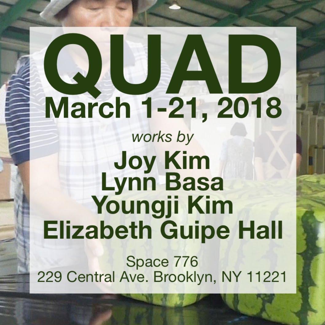 Quad Group Show 3.1-3.21.2018