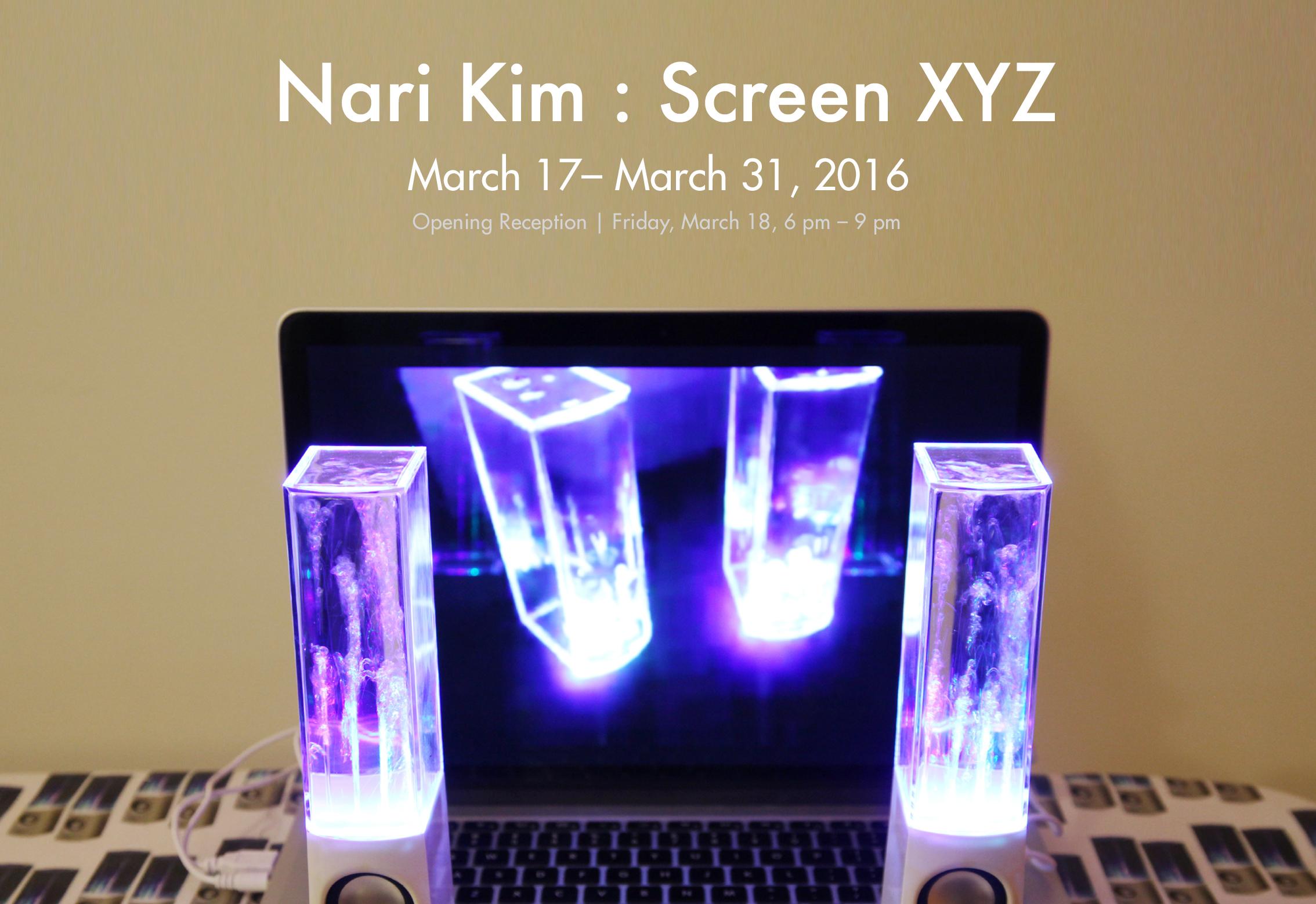 Screen XYZ Nari Kim solo