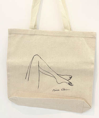 Tote bag: Nina Klein drawing
