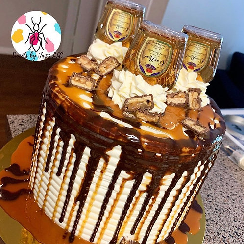 Snickers Crown cake