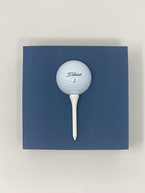 Navy Golf Ball Mini