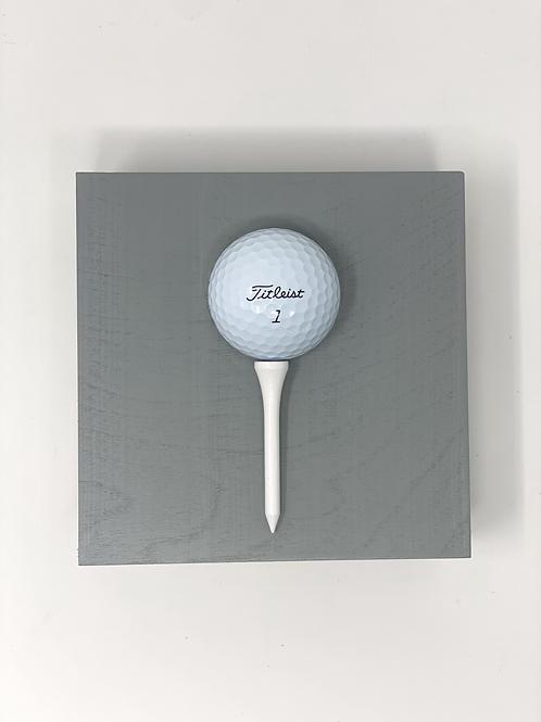 Grey Golf Ball Mini