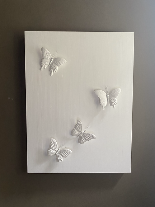 White Butterflies 1