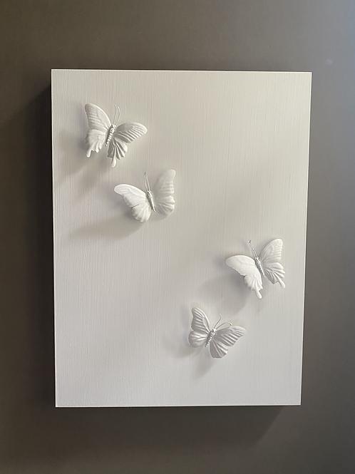 White Butterflies 4