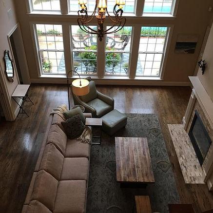 Hardwood floor installed by clark's hardwood refinishing