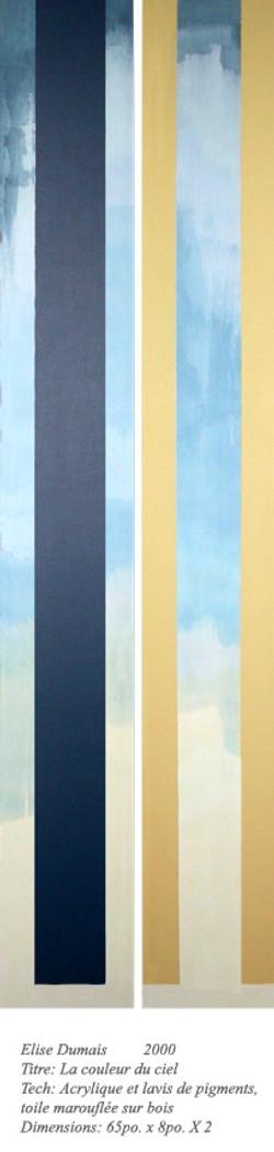 Liminaire 1997 «La couleur du ciel»