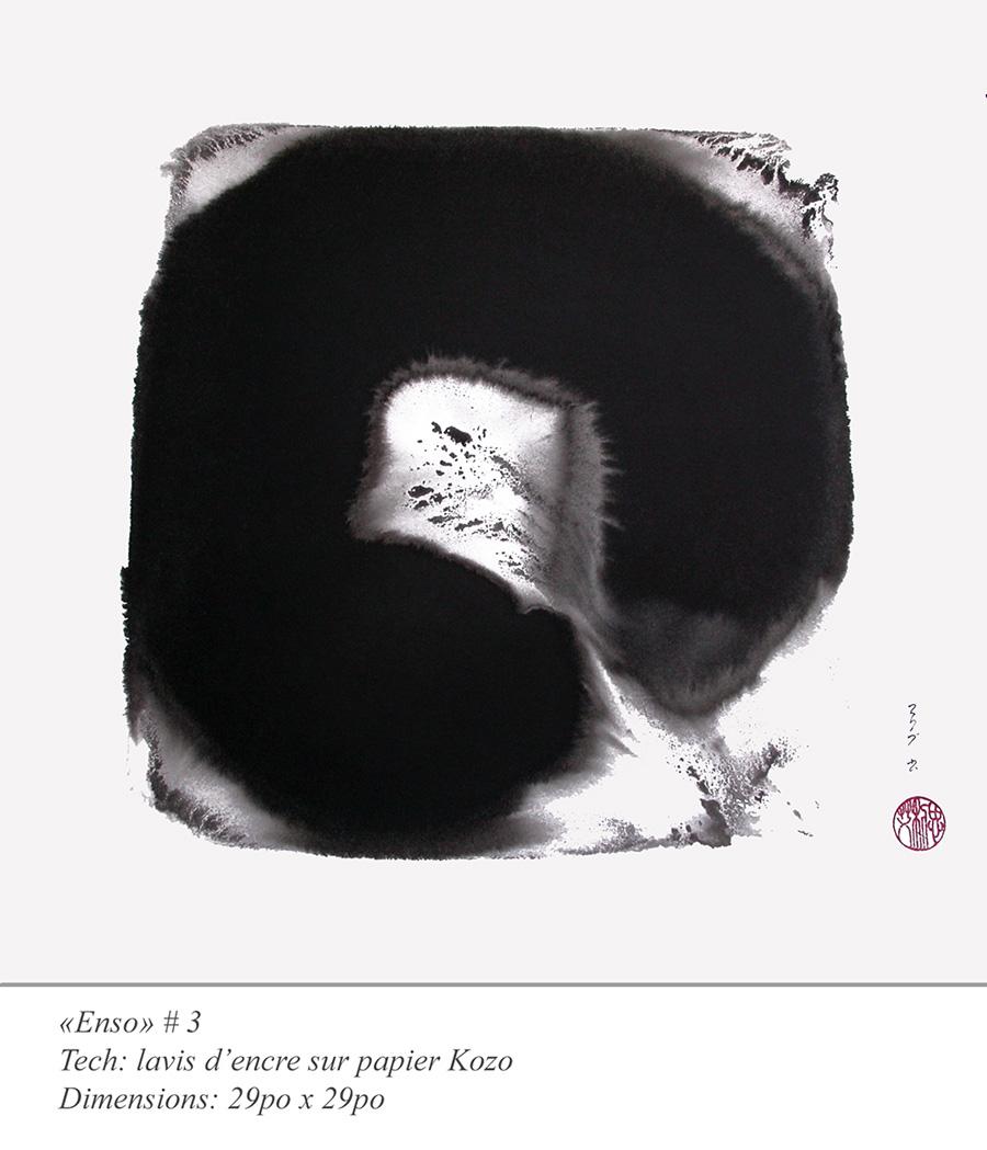 «Enso» lavis #3