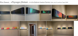 Exposition, Galerie Louise Carrier