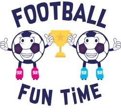 Football Fun Times Logo