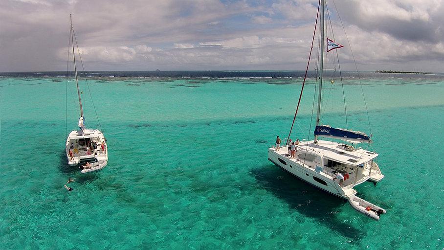 Tobago Cays Overhead DRONE shot GREAT.jp