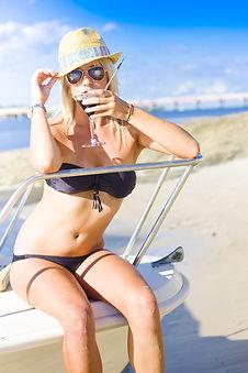 Girl Drinking on boat.jpg