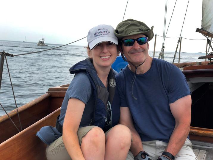 Karen and Mark on Gitana July 2018.jpg