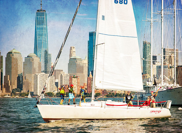 Synergy - Pirate Sail - J180