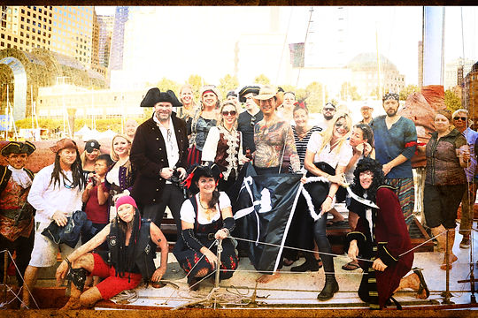 Ye Ole Pirate Crew at North Cove 2017