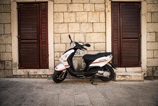 Scooter in Split