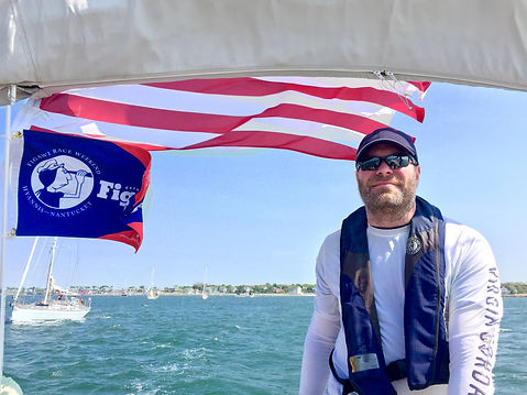 Duber at helm Figawi Race