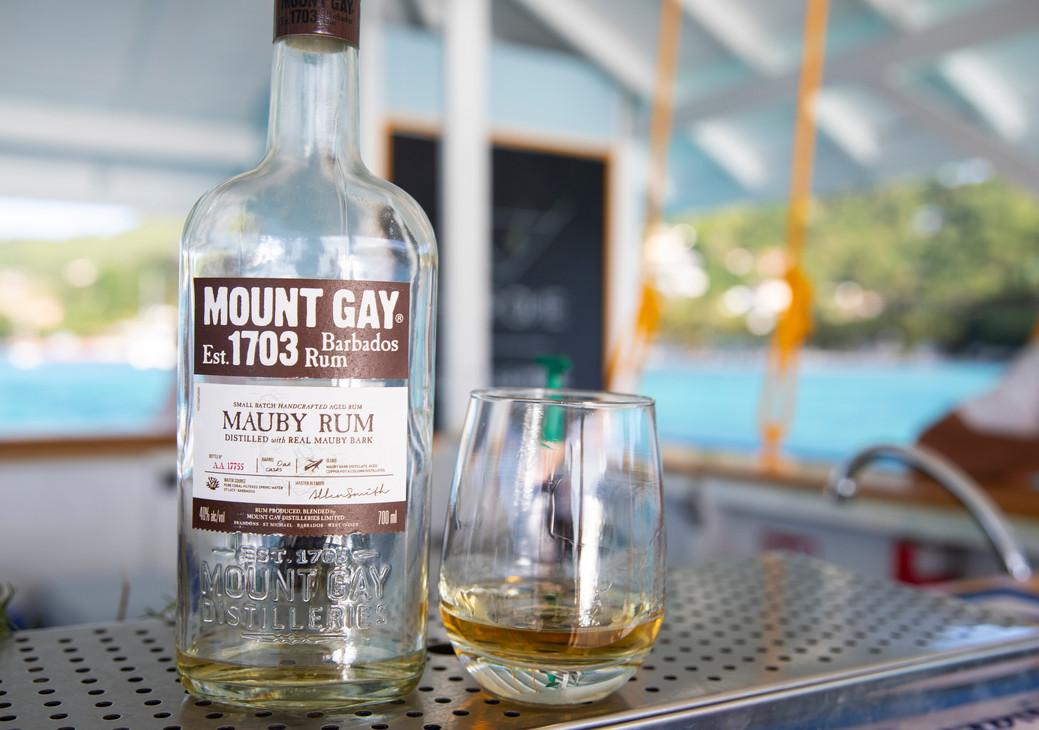 Mt Gay Mauby at Bar One