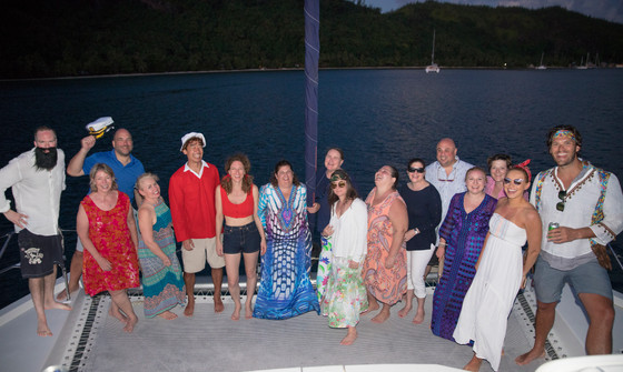 Dressed up Huahine