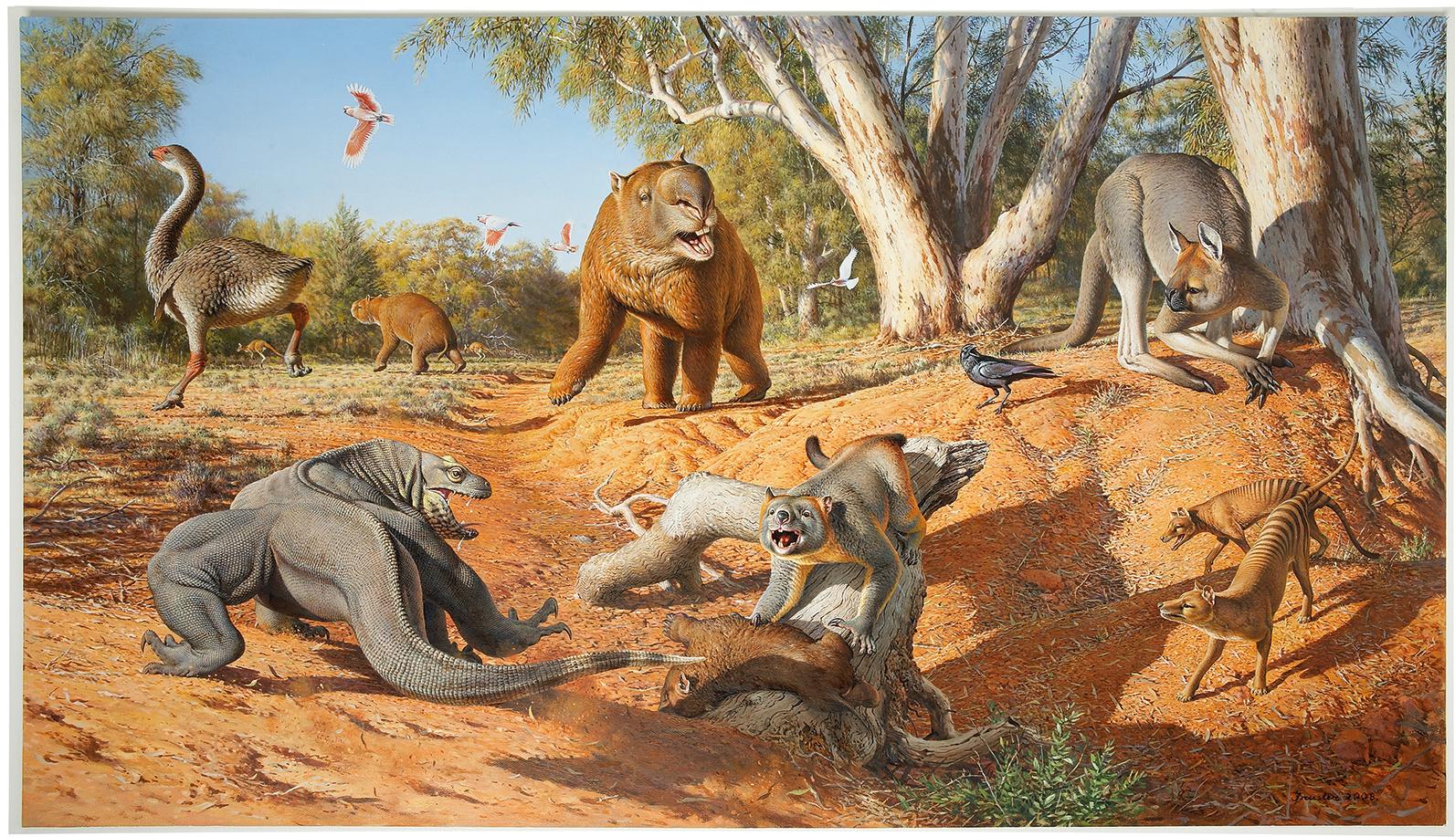 Mega Fauna - Peter Trusler