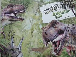 Dinosaurs Alive - Adelaide Zoo