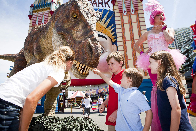 Dinosaurs Alive -  Luna Park Sydney