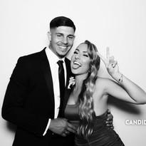 Candi Snaps - Sydney Kardashian Booth - David and Nikkita Guests