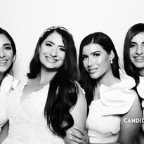Candi Snaps - Sydney Kardashian Booth - Nina and Gadi Weddig Bridesmaids