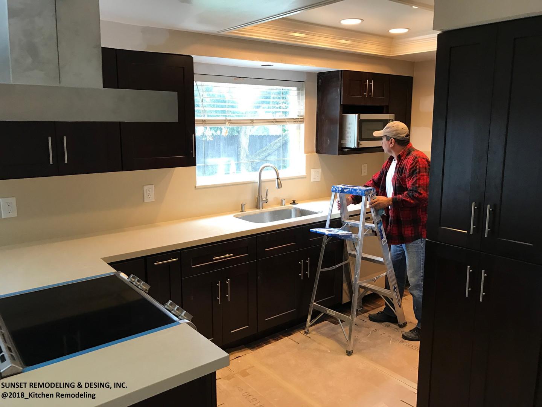 Kitchen remodeled (2018)