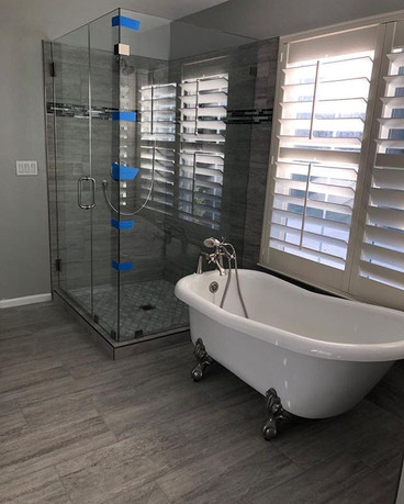 Toilet and Bath remodeled (2018)