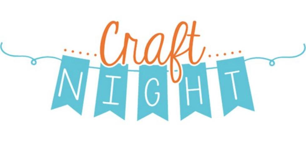 Craft Night Wed. 10/23