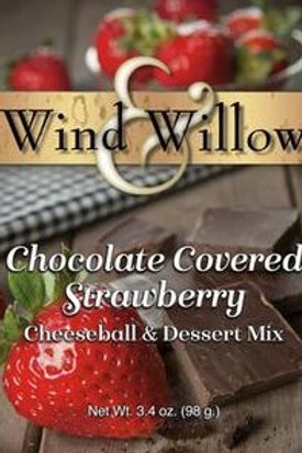 Chocolate Covered Strawberry Cheeseball & Desert Mix
