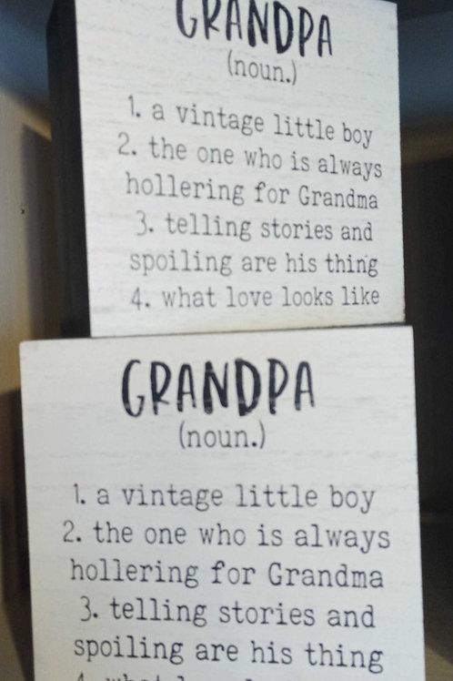 Grandpa (noun)