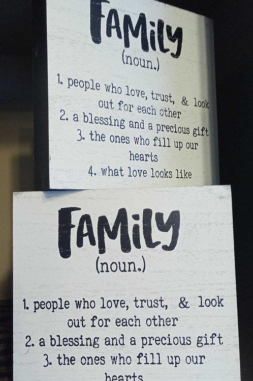 Family (noun)