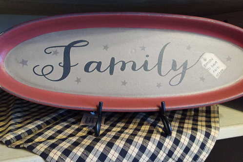 Family (decor plate)